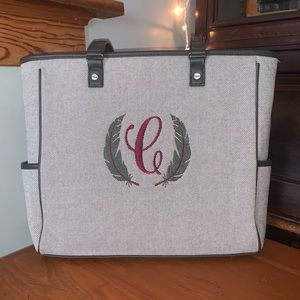 Thirty-One Cindy Tote, Charcoal